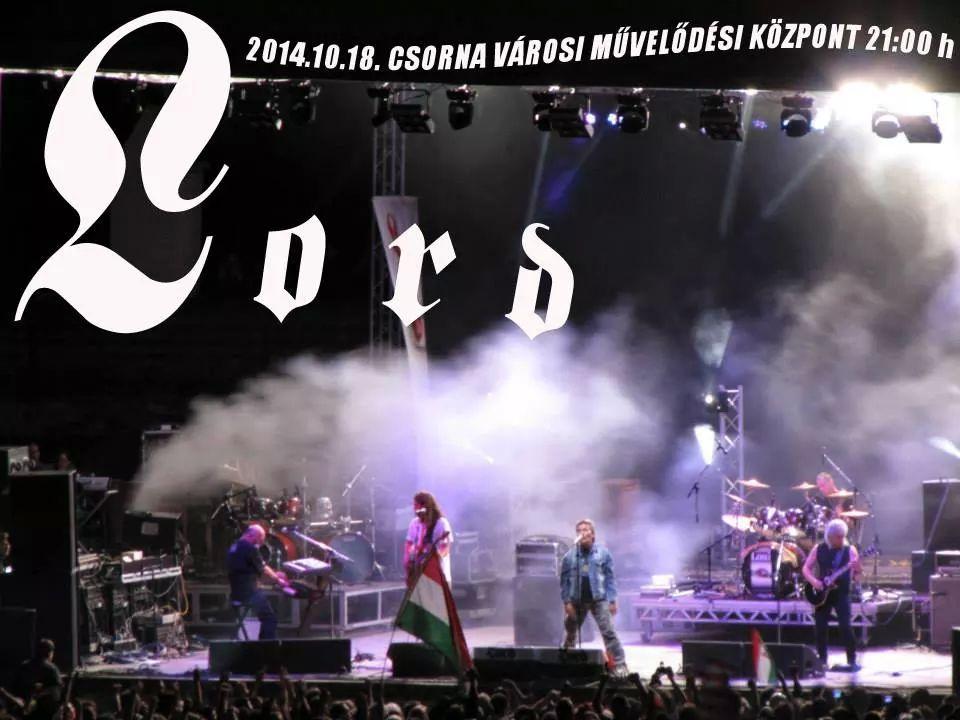 LORD koncert - CSORNA, 2014.10.18.