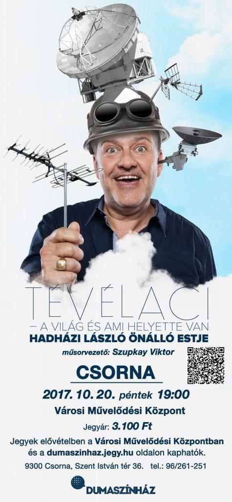 TÉVÉLACI / Hadházi László önálló estje