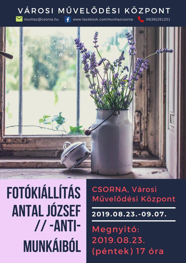 Antal József fotókiállítása