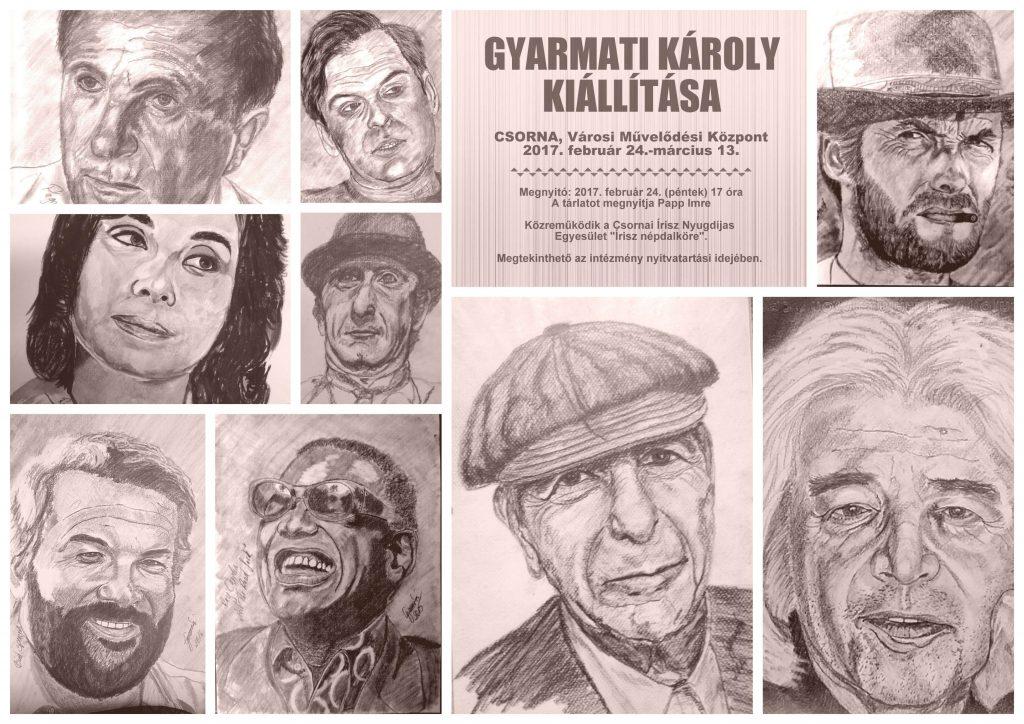 Gyarmati Károly kiállítása
