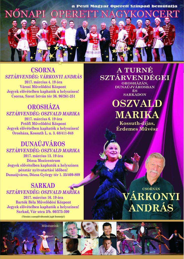 Nőnapi Operettgála