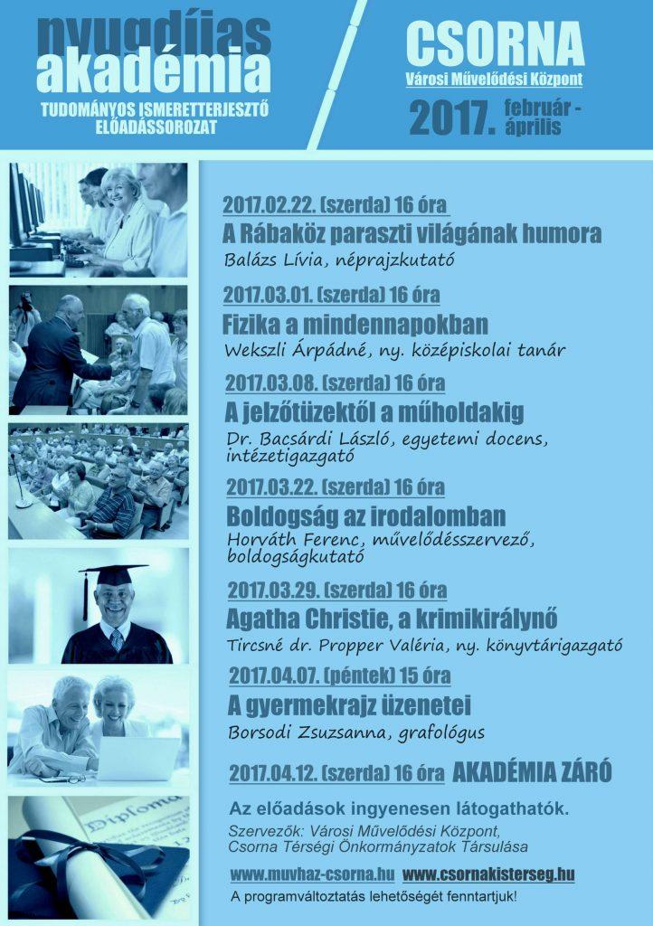 Nyugdíjas Akadémia: A Rábaköz paraszti világának humora / Balázs Lívia néprajzkutató előadása