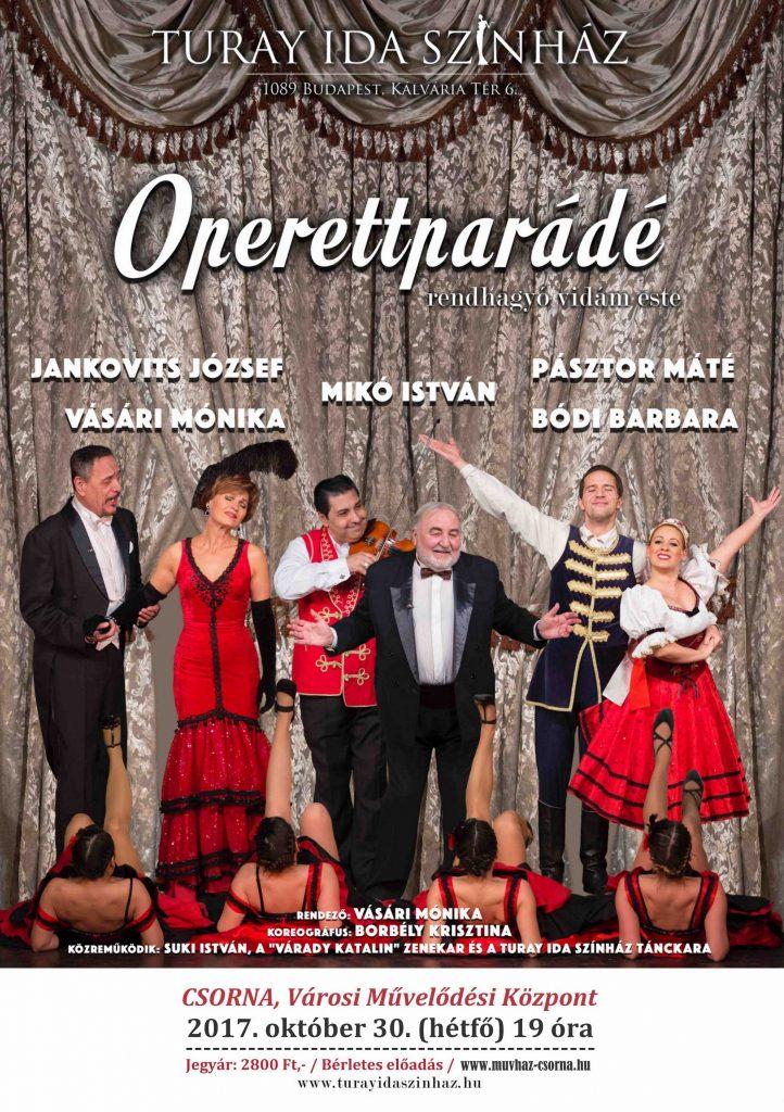 Színház: Operettparádé