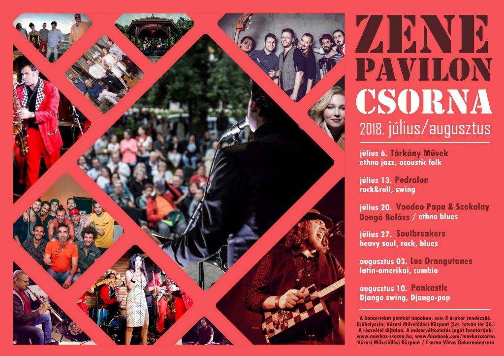 Zenepaviloni koncertek @ Zenepavilon | Csorna | Magyarország