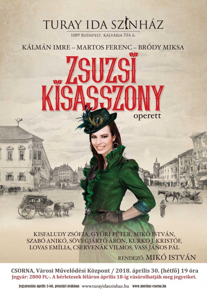 Színház: Zsuzsi kisasszony